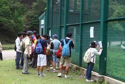 県立コウノトリの郷公園見学