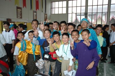 マレーシアの子ども
