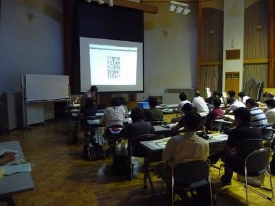 黒豆の館で基礎的な講義