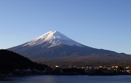 富士山(河口湖畔から)