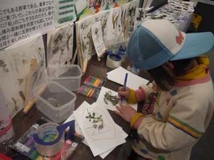 植物画お絵かき