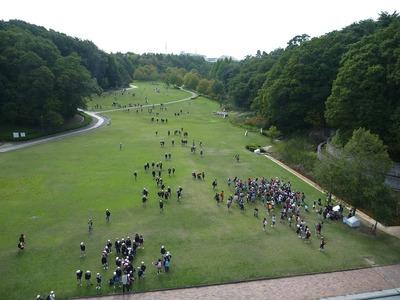 深田公園のようす