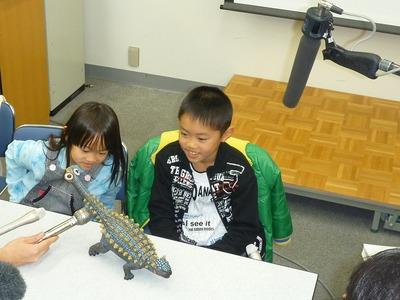アンキロサウルスと田中くん