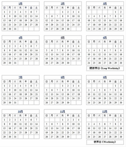4月31日がカレンダーに!!