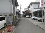 篠山町駅跡周辺です
