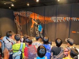 3階恐竜化石展示室