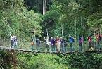 トレッキング吊橋