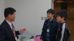 安間先生と久々の再開のサムネール画像